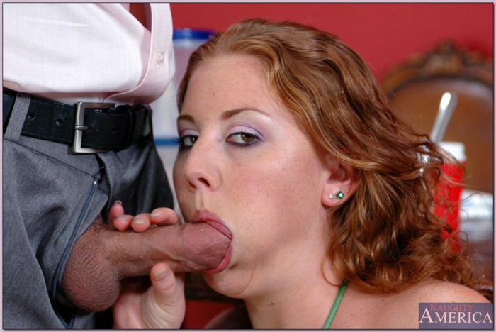 Cherry Poppens Sucking A Cock